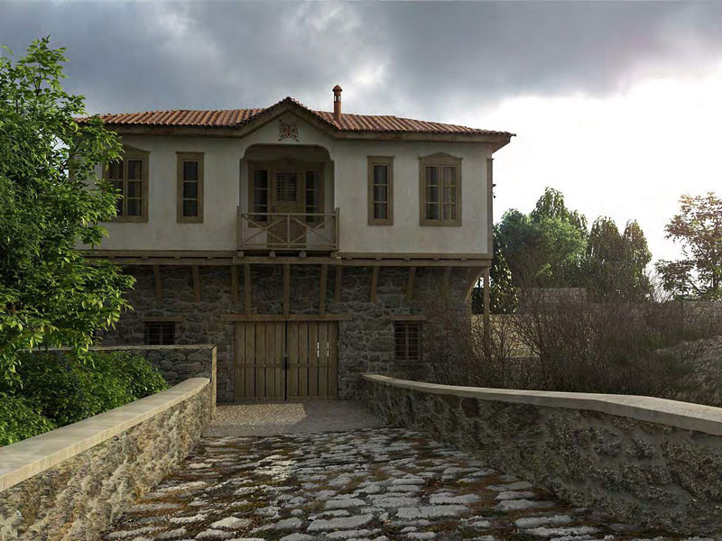 New Two Storey Building in Karyes - proentasi